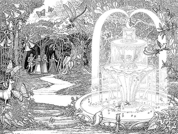 Tomislav Tomic_Tales of Beedle Fountain of Fair Fortune