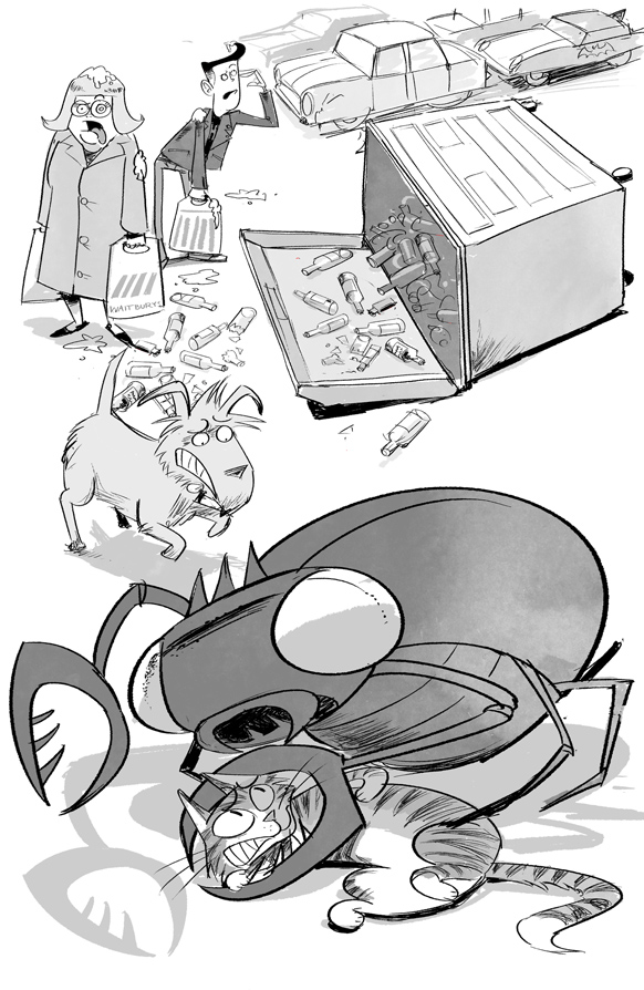 Attack of the Alien Dung! illustrations by Steve May