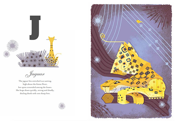 Graham Carter Alphamals A-Z Jaguar Big Picture Press