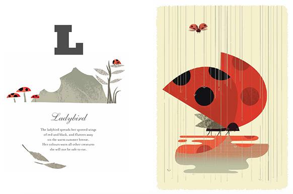 Graham Carter Alphamals A-Z Ladybird Big Picture Press