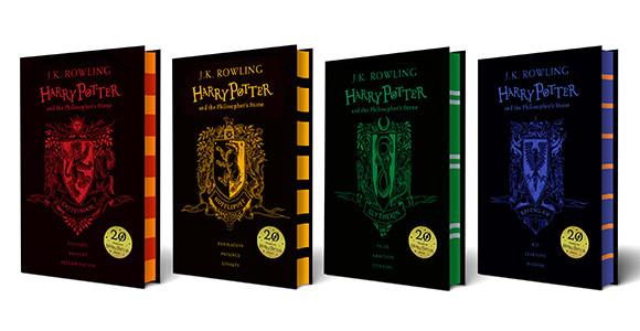 Harry Potter and the Philosopher's Stone 20th Anniversary Editions Illustrated by Levi Pinfold