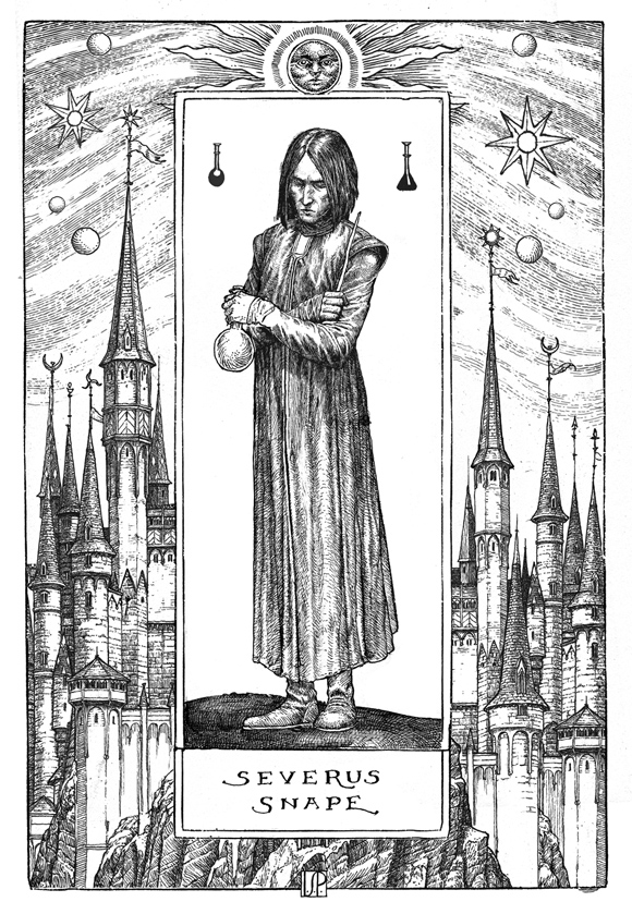 Professor Snape Harry Potter and the Philosopher's Stone 20th Anniversary Editions Illustrated by Levi Pinfold