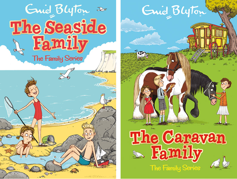 Enid Blyton Family Series - Illustrated by Aleksei Bitskoff