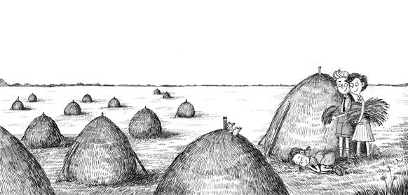 Enid Blyton: The Caravan Family illustrated by Aleksei Bitskoff