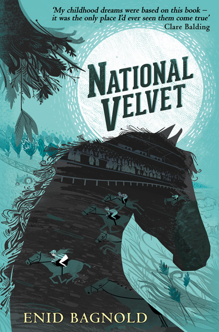 National Velvet cover illustration by Graham Carter