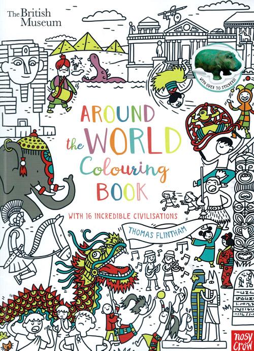 Thomas Flintham Around The World Colouring Book