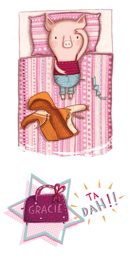 Gracie Laroo at Pig Jubilee illustrated by Kristyna Litten