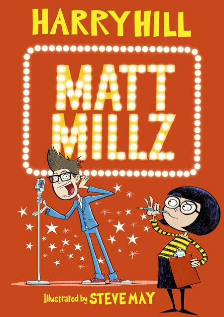 Steve May illustrates Harry Hill Matt Millz