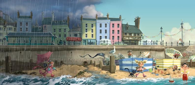 The Pirates of Scurvy Sands by Jonny Duddle