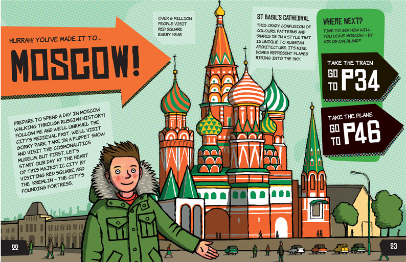 Around the World in 50 Ways - Illustrated by Frances Castle