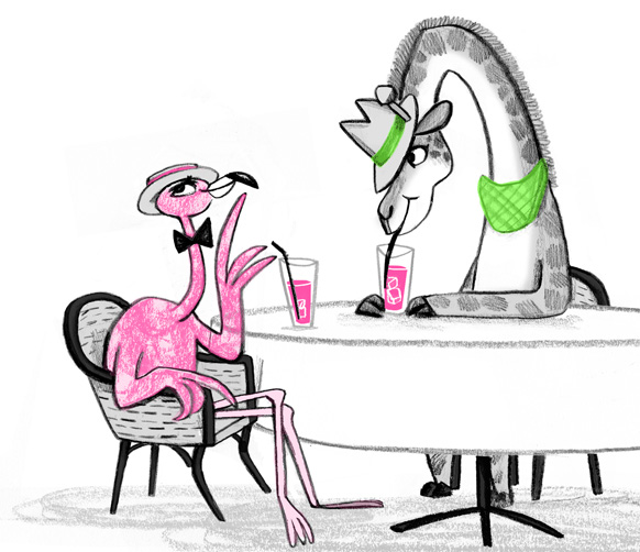 Fabio Flamingo illustrated by Emily Fox