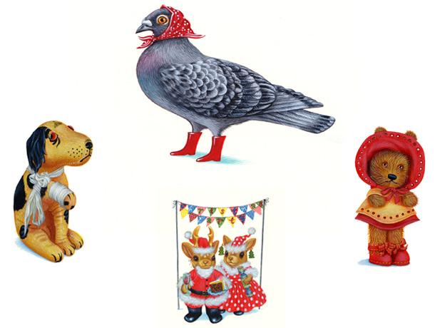 arena-illustration-matilda-harrison-20-priscilla-the-pigeon-and-toys