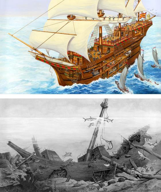 arena-illustration-philip-hood-3-shipwreck