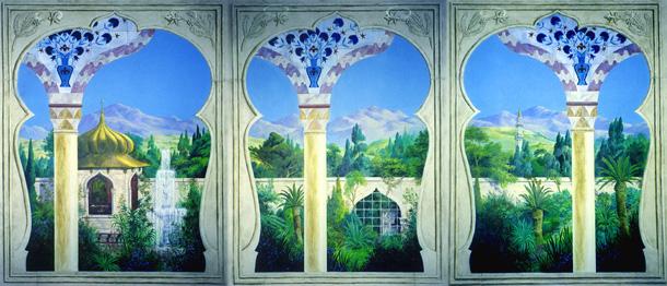 arena-illustration-philip-hood-10-intercontinental-hotel-mural