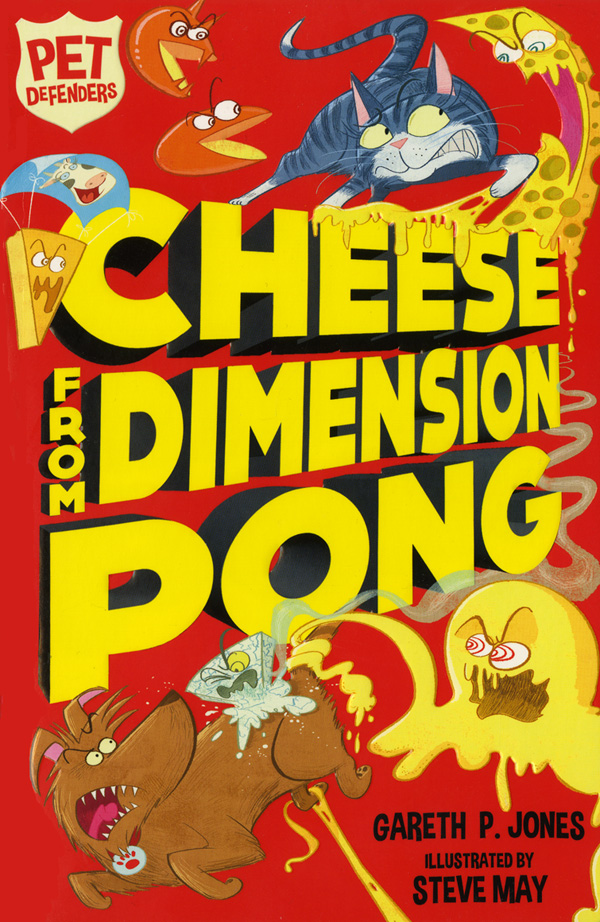 Cheese From Dimension Pong - illustrated by Steve May