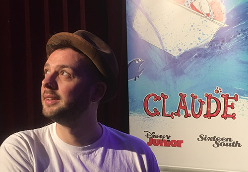 Alex T Smith creator of Claude