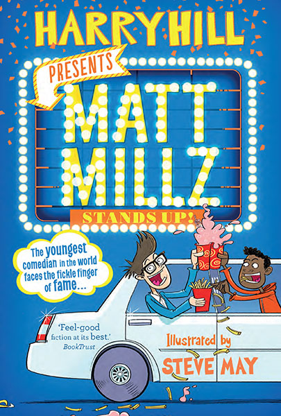 Harry Hill Presents Matt Millz Stand Up Illustrations by Steve May