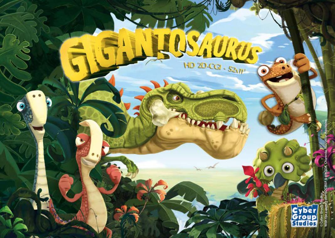 Gigantosaurus Cyber Group Studios