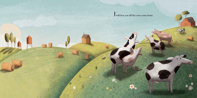 I'll Love You... written by Kathryn Cristaldi and illustrated by Kristyna Litten