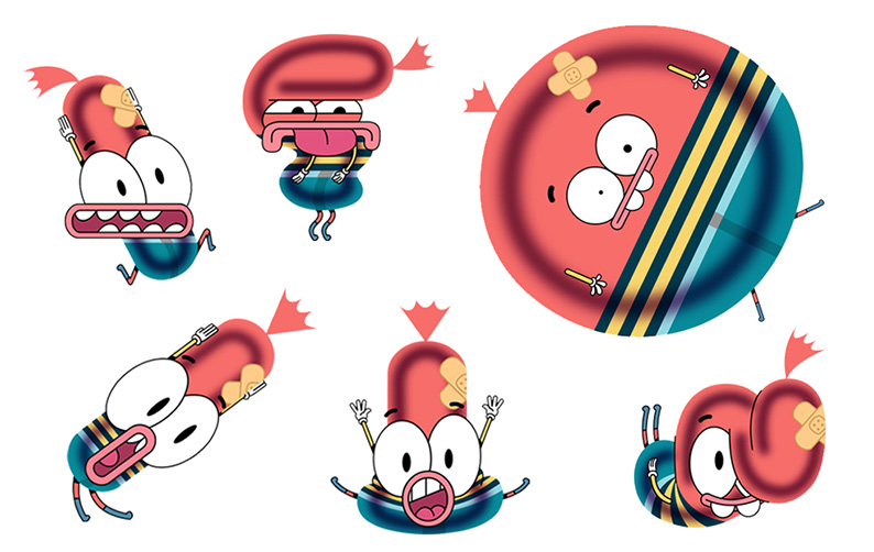 Pinky Malinky - Art Direction 'Character Design' created for Netflix by Chris Garbutt and Rikke Asbjoern