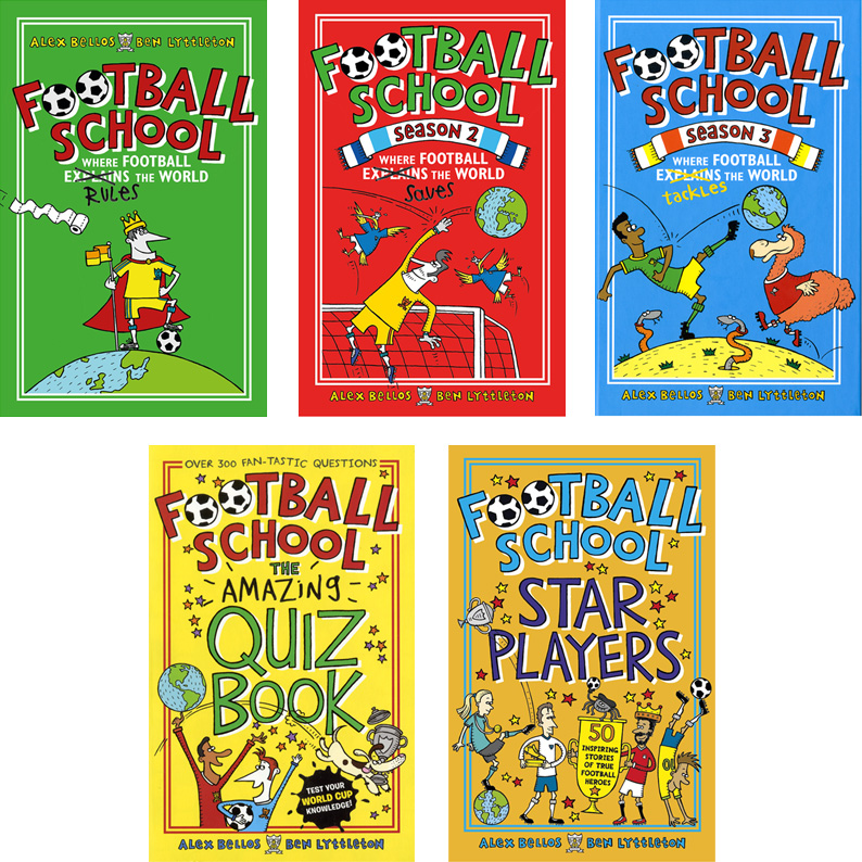 Football School series Illustrated by Spike Gerrell