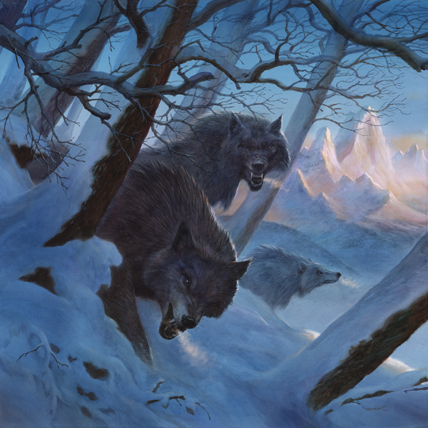 George R. R. Martin Song of Ice and Fire Calendar 2020 Direwolves