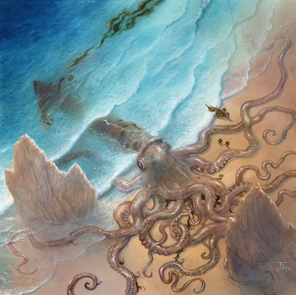 George R. R. Martin Song of Ice and Fire Calendar 2020 Kraken