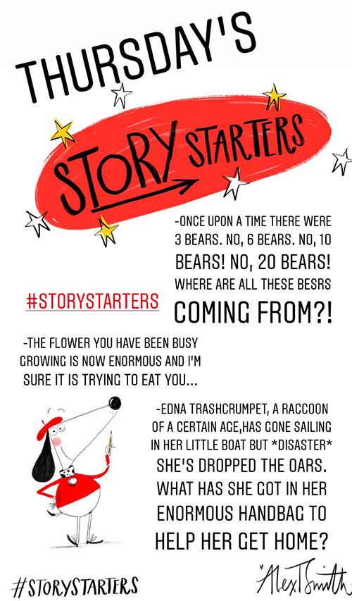 Alex T Smith Story Starters
