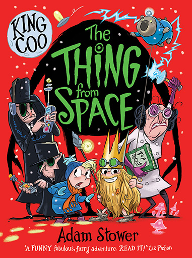 Adam Stower The Thing From Space Illustrations
