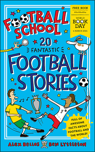 World Book Day Football School illustrated by Spike Gerrell