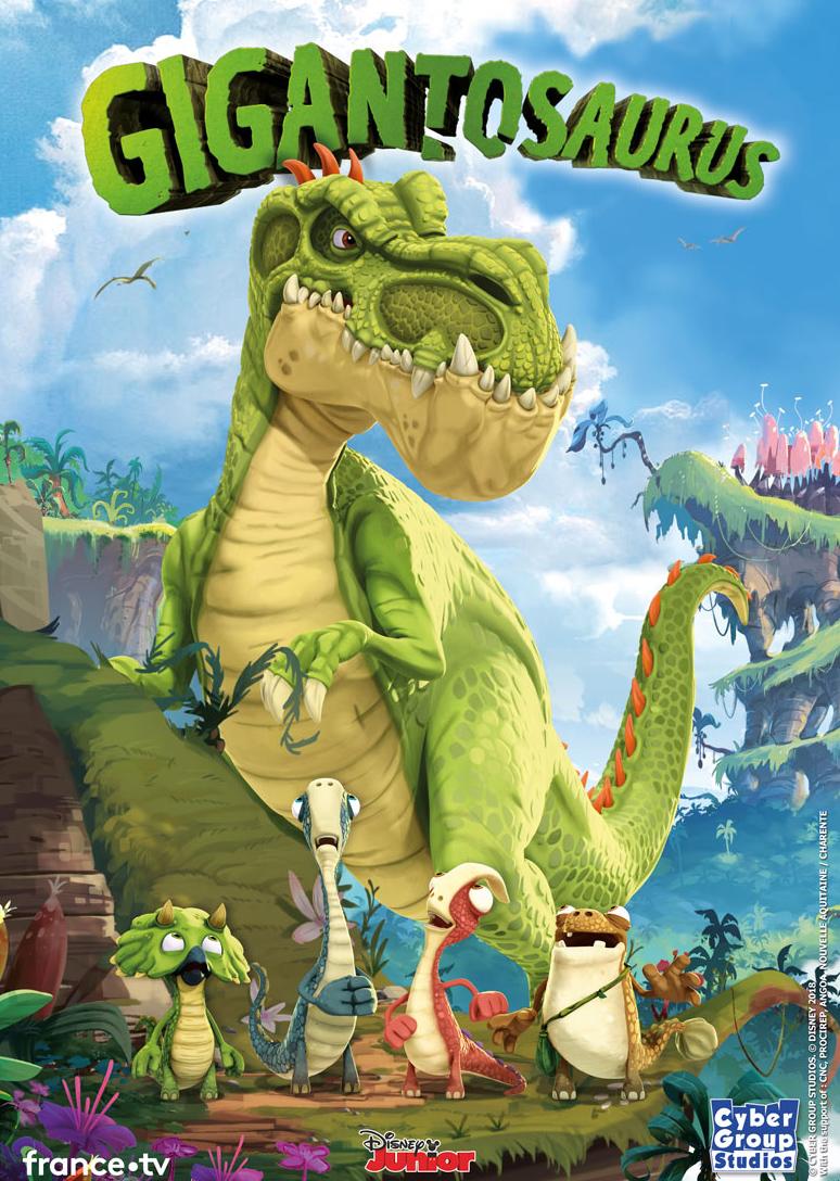 DINO-TASTIC - Gigantosaurus Animated TV Series