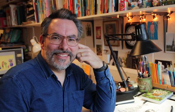 Adam Stower portrait