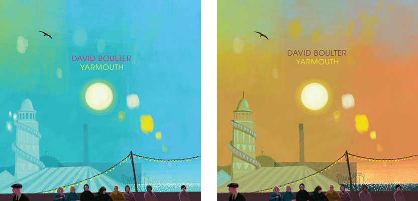 YARMOUTH by David Boulter - LP sleeve illustration by Frances Castle