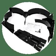 "Mulch kit Zoom 34"""