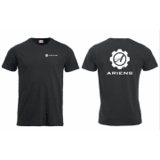 Ariens Sort t-skjorte Str. M