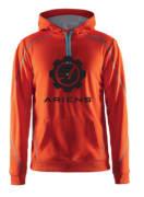 Ariens hettegenser orange 2020 str S