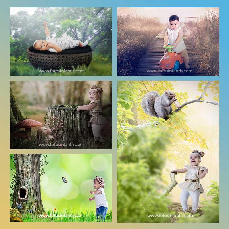 Fotos Artísticas de Crianças