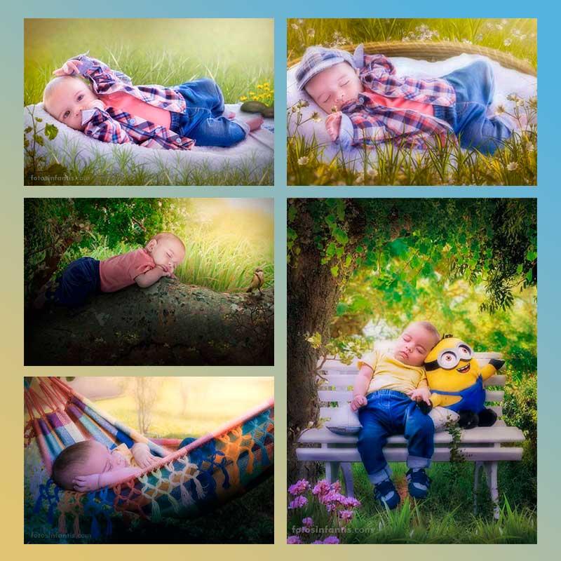 Fotos Artísticas de Bebês