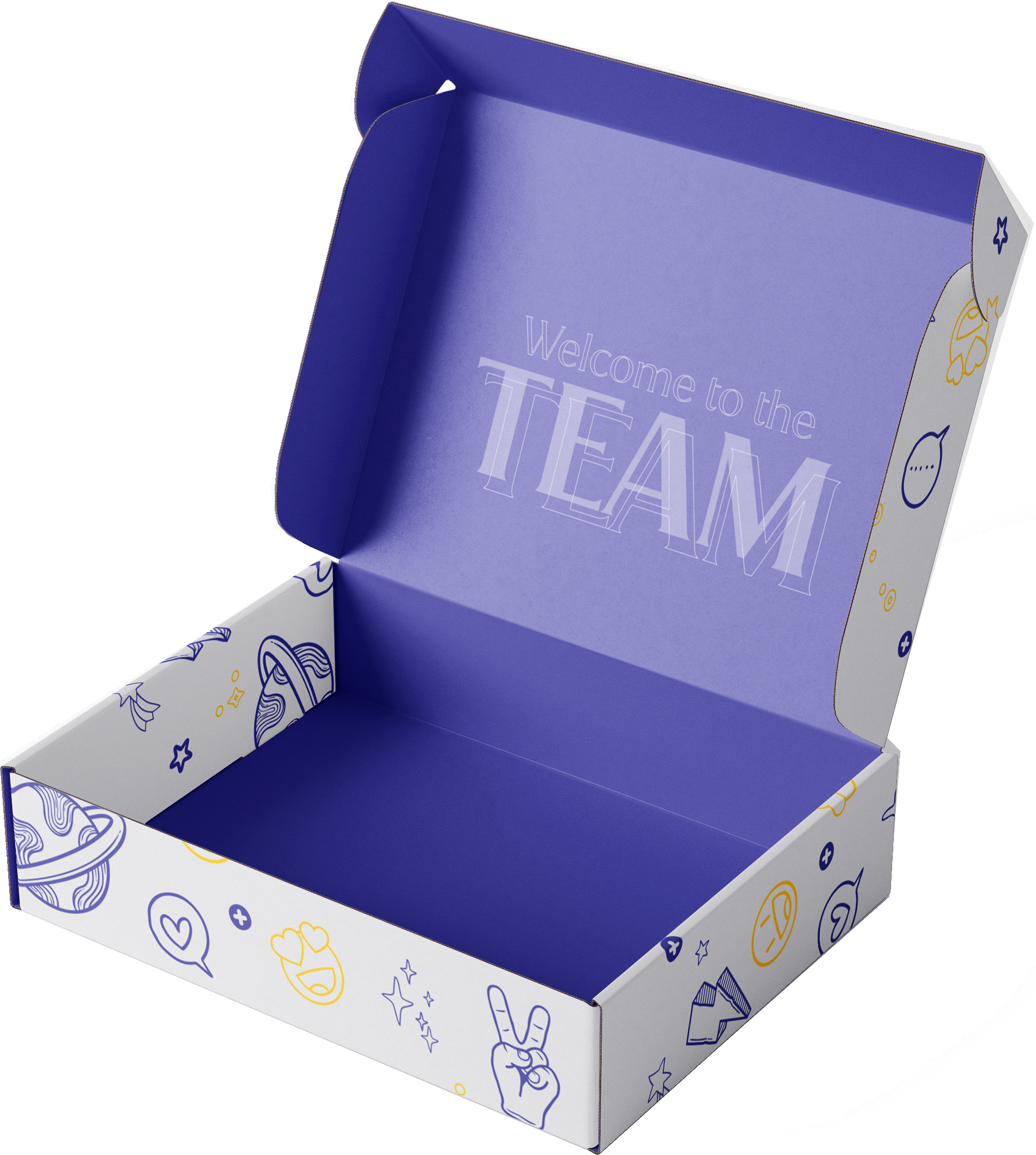 Double-Sided Mailer Box