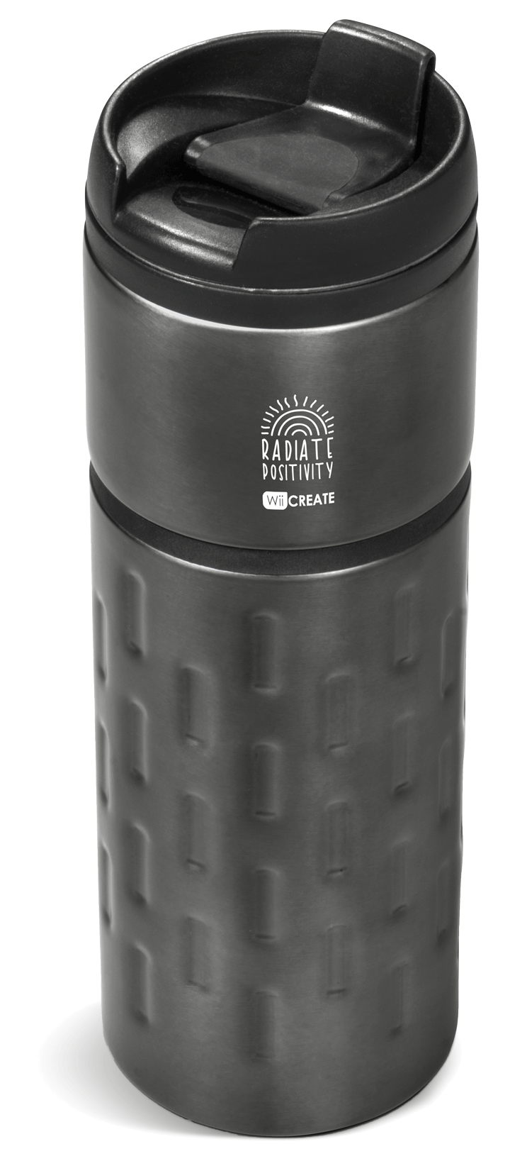 Gunmetal Travel bottle