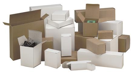 Chipboard folding carton sizes