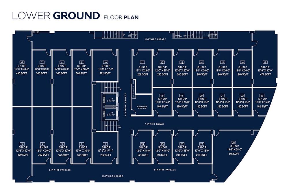 OpalSqaure Floor Plans