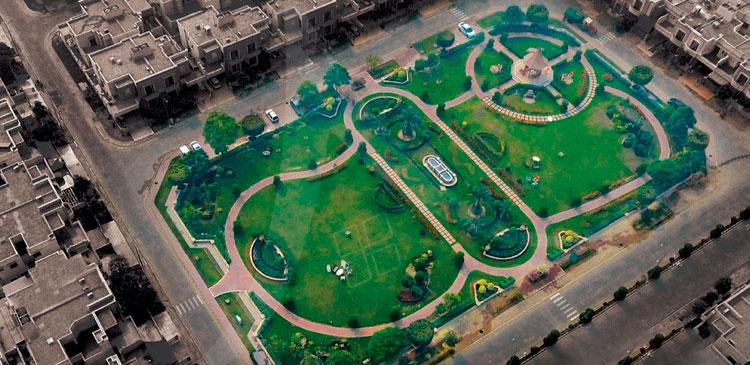 dream gardens slider