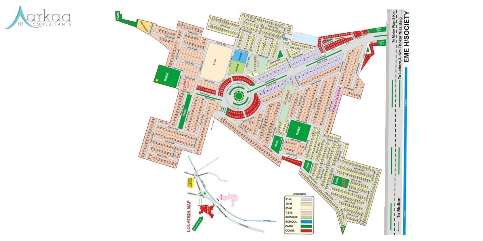 Park View City floor plan