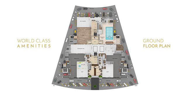 Grand Millennium floor plan 5