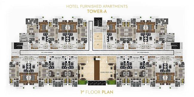 Grand Millennium floor plan 2