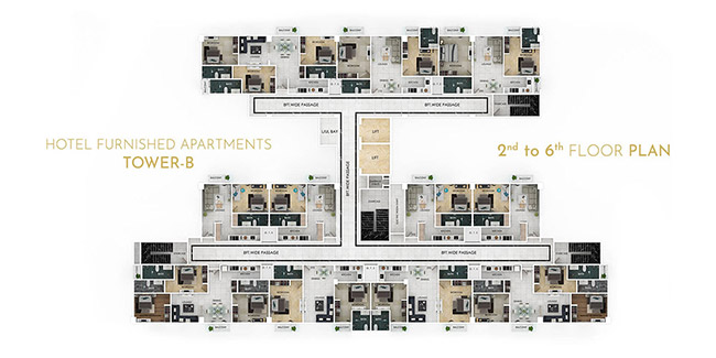 Grand Millennium floor plan 3