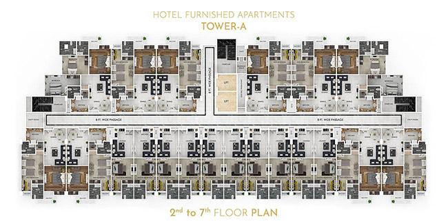 Grand Millennium floor plan 4