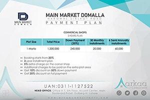 main market domala payment plan