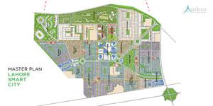 Lahore Smart City Map